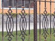 Gard Fier Forjat Model G117